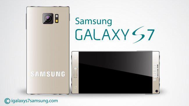 Концептуальный Galaxy S7 без рамок экрана