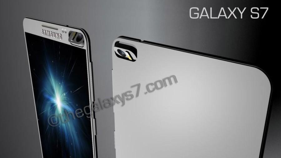 Концепт Galaxy S7 от Санни Ганди в картинках