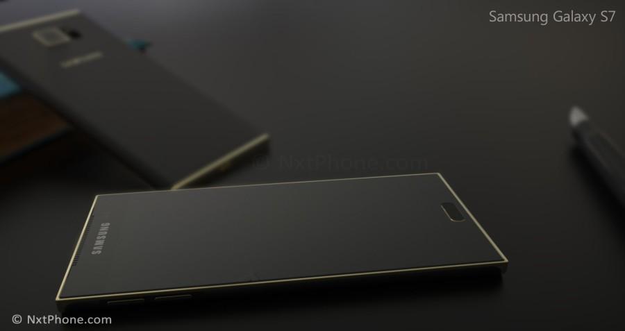 Концепт Samsung Galaxy S7 от Жермена Смита