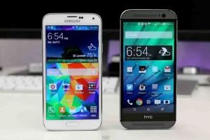 Samsung Galaxy S7 vs HTC One M10: схватка лидеров