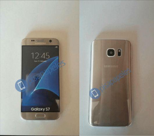 Золотистый Samsung Galaxy S7