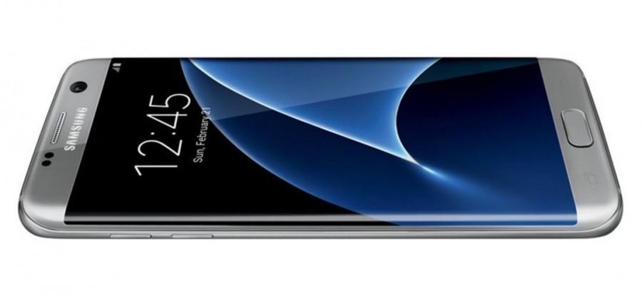 Серебристый Samsung Galaxy S7 Edge