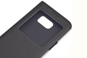 Чехол Samsung S-View Cover Black (черный) для Galaxy S7