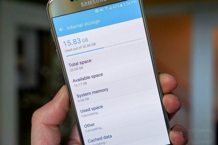 Базовая прошивка Samsung Galaxy S7: ложка дегтя