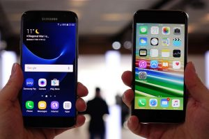 Samsung Galaxy S7 vs iPhone 7 от Apple: противостояние 2016 года