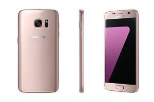 Розовый Samsung Galaxy S7, а также Galaxy S7 Edge уже на подходе