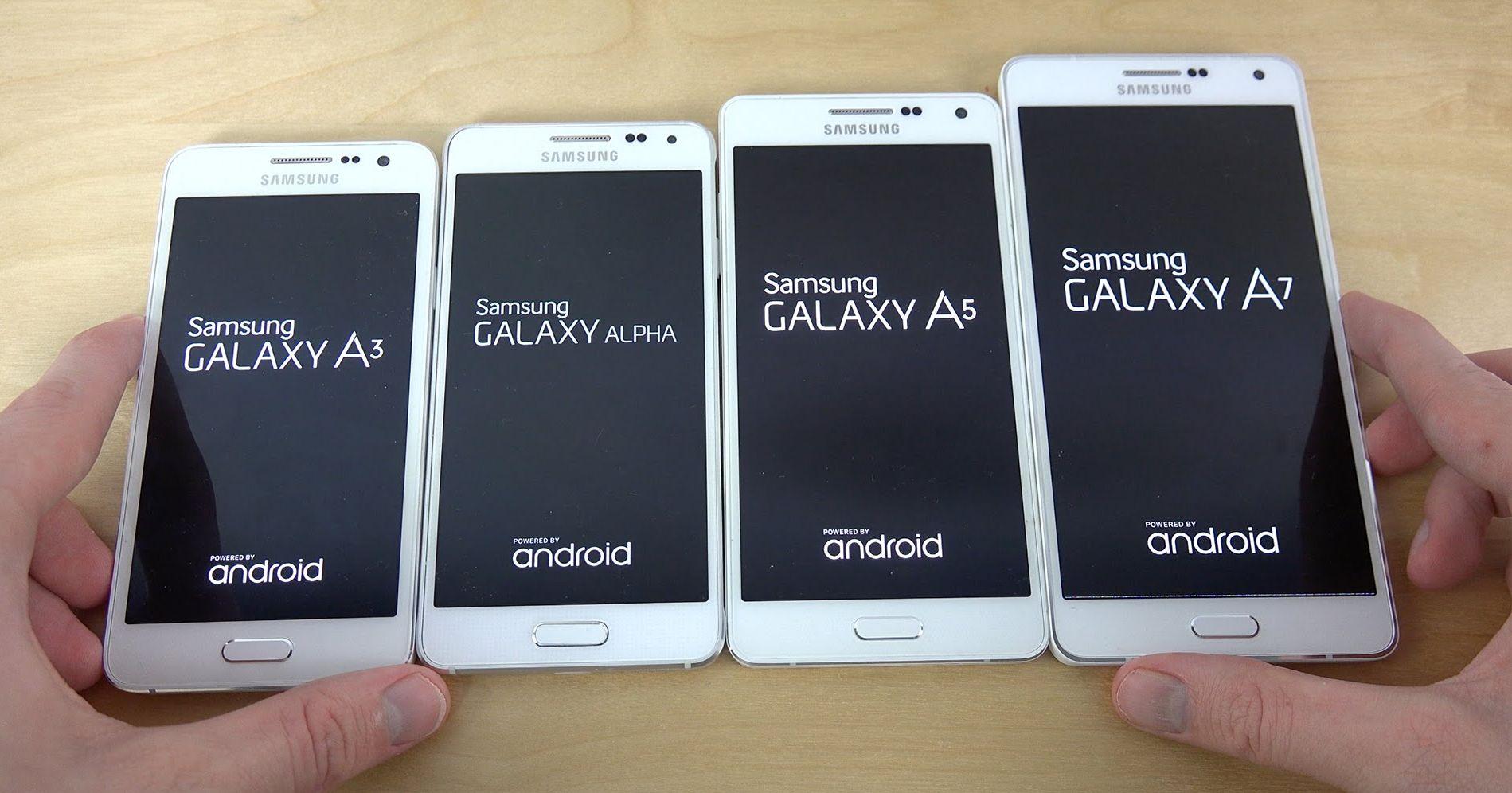 Текущая линейка Samsung Galaxy A, в которой появится новый Galaxy A4