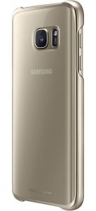 Клип-кейс Samsung Clear Cover золотистый