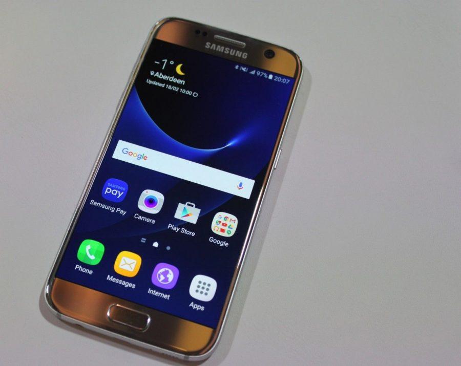 Оригинальный домашний экран Samsung Galaxy S7