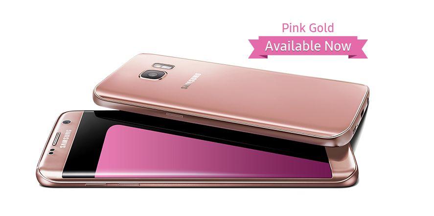 Розовый Samsung Galaxy S7 Duos SM-G930FD