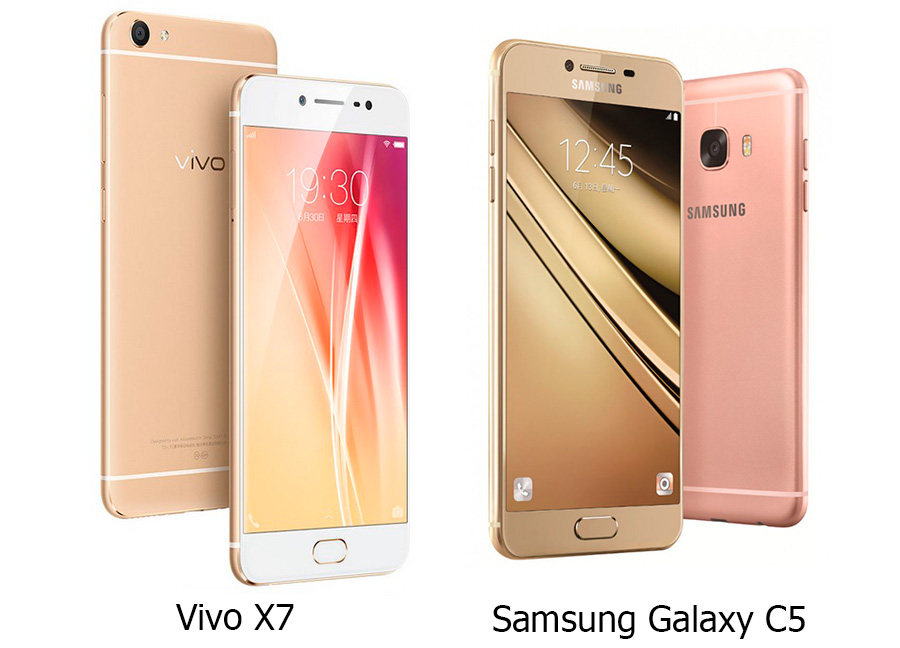 Vivo X7 vs Samsung Galaxy C5