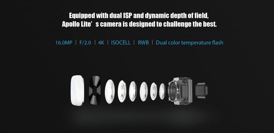 Основная камера Vernee Apollo Lite