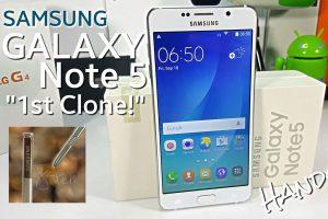 Точная копия Samsung Galaxy Note 5: несбыточная мечта нищеброда