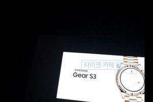 Первые фото Samsung Gear S3 и другие новости будущих смарт-часов