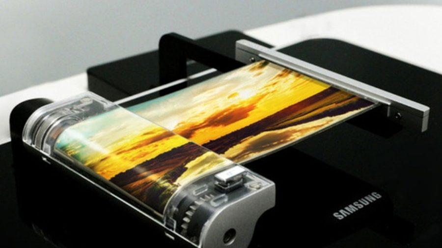 Экспериментальная гибкая матрица Samsung