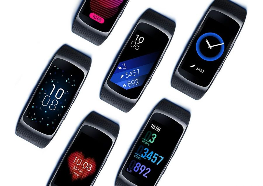 Экран Samsung Gear Fit 2