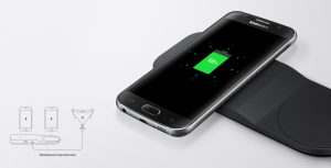Беспроводное зарядное устройство Samsung Tray design EP-PA710