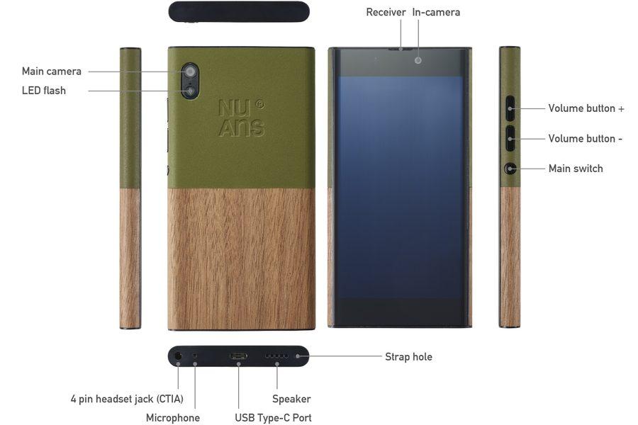 Эко-смартфон NuAns Neo, который хочется купить только посмотрев на него