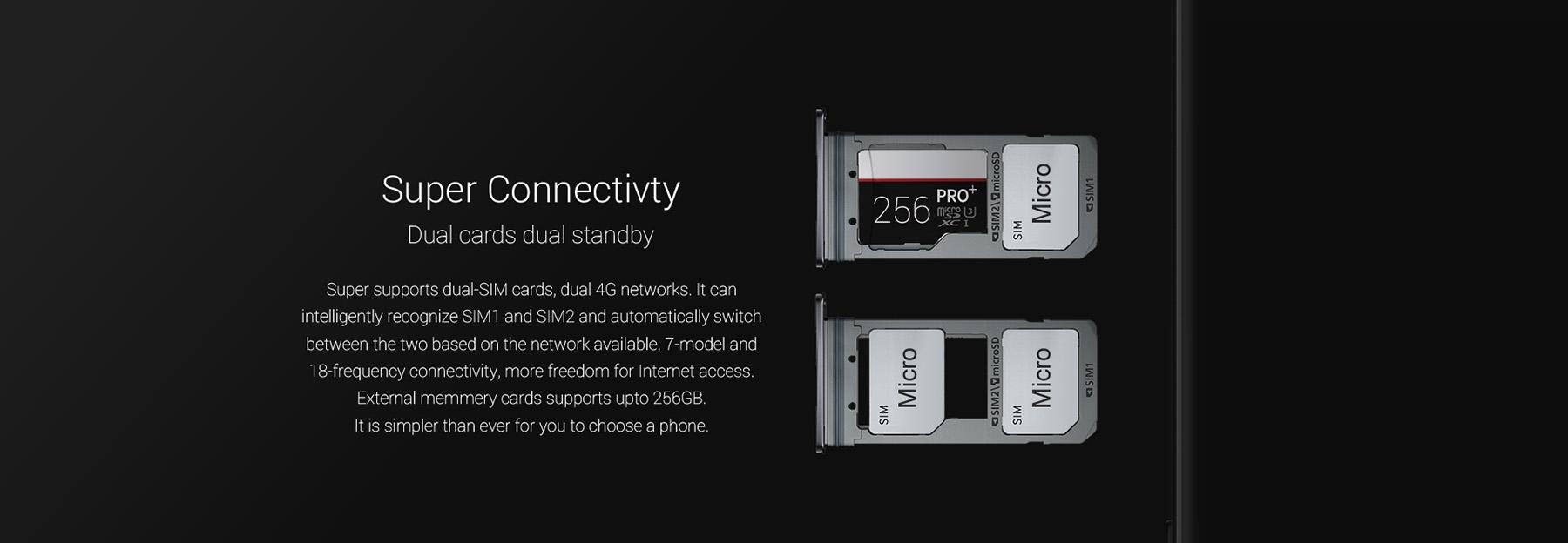 оличество SIM-карт: 2, Dual Standby, Dual 4G LTE