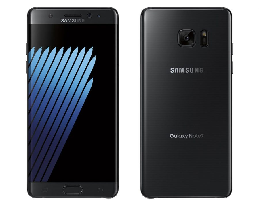 Samsung Galaxy Note 7 черный