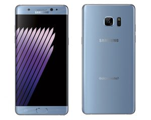 "Samsung Galaxy Note 7 Blue Coral (""голубой коралл"")"