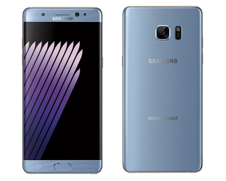 Samsung Galaxy Note 7 синий