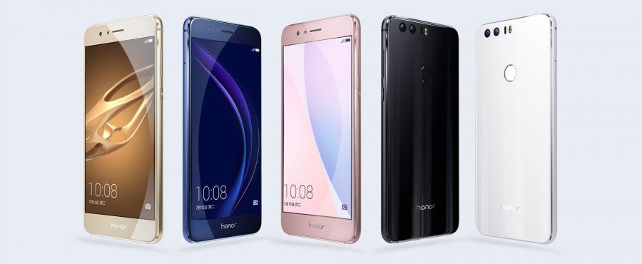 Цветовые решения Huawei Honor 8