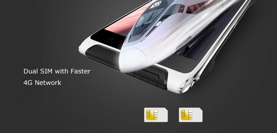 HomTom HT20 поддерживает установку двух SIM-карт