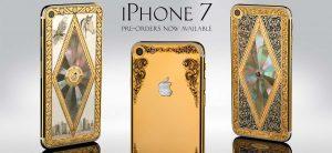 Стартовал предзаказ ювелирного Apple iPhone 7 в золотом корпусе