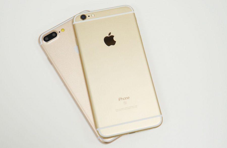 Apple iPhone 7 Plus с двоной камерой и iPhone 6s Plus в сравнении