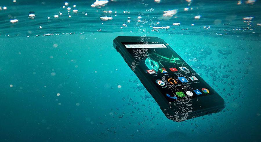 Archos 50 Saphir под водой