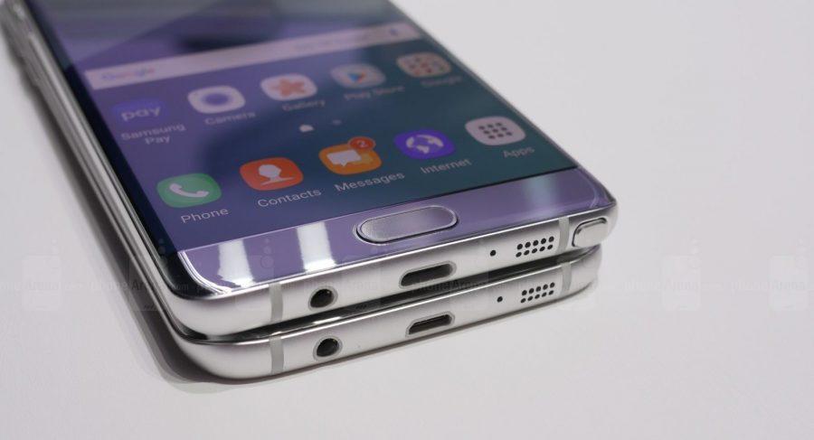 Внешне новый Galaxy Note 7 и Galaxy S7 Edge - почти что братья-близнецы