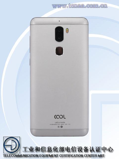 LeEco Cool1 - вид сзади