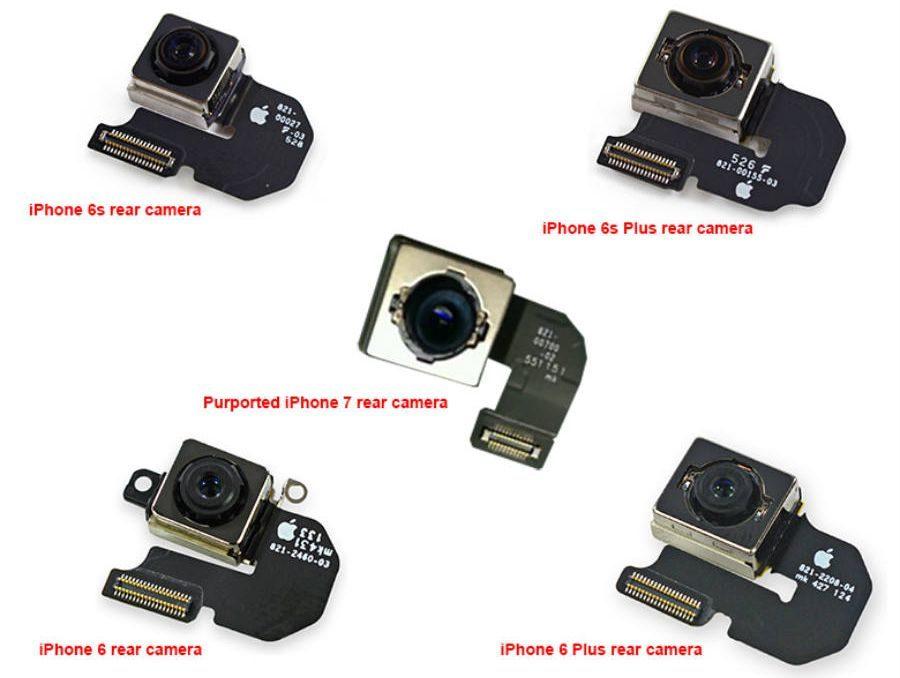Модуль камеры Apple iPhone 7 с оптической стабилизацией изображения