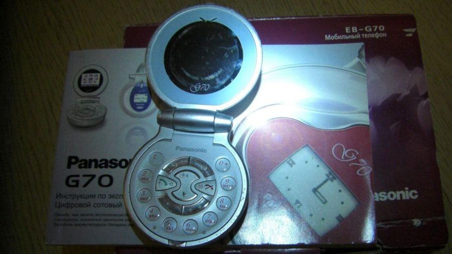 """Легендарная """"пудреница"""" Panasonic G70 как пример классического телефона для женщин"""