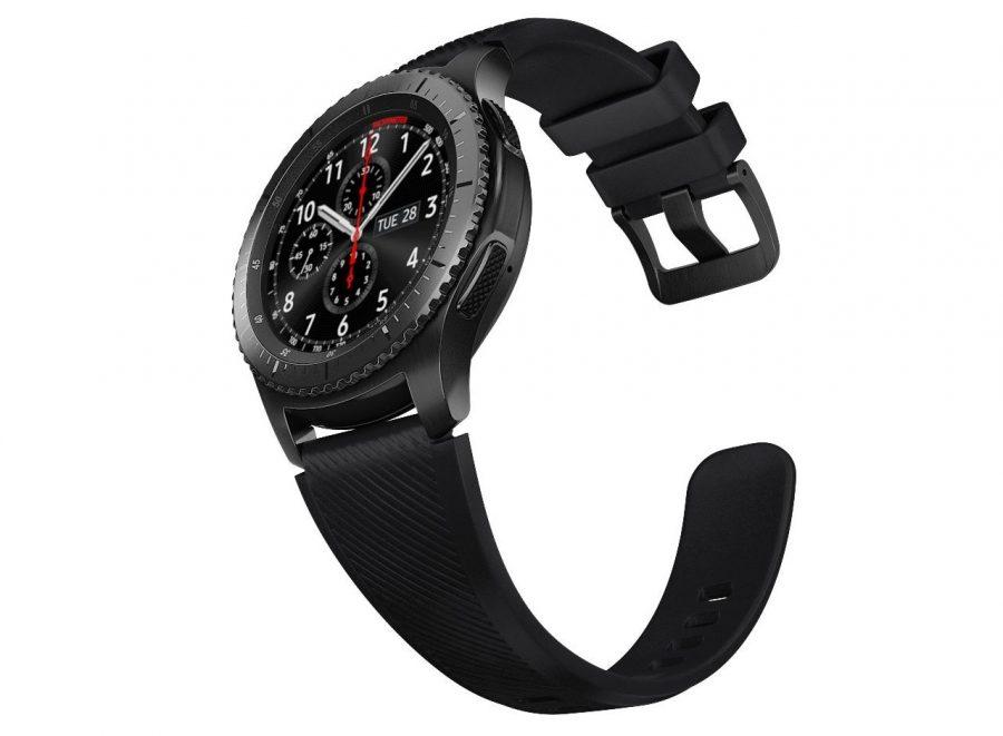 Samsung Gear S3 Frontier - модель для тех, кто любит активный образ жизни и хочет шагать в ногу со временем