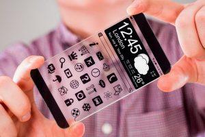 Первый прозрачный смартфон выпустят китайцы, а не Samsung или Apple