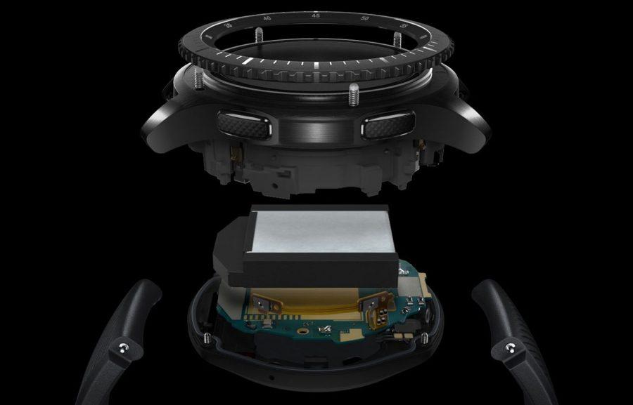 Конструкция Samsung Gear S3 Frontier