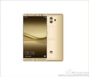 Huawei Mate 9 golden - золотистый
