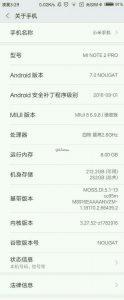 Характеристики Xiaomi Mi Note 2 Pro