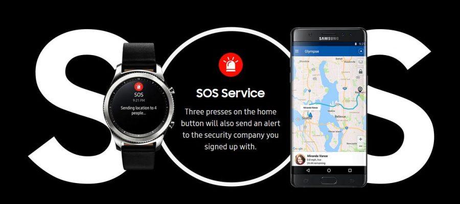 Samsung Gear S3 могут спасти вашу жизнь в экстремальной ситуации