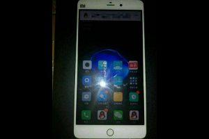 Первое фото Xiaomi Mi 5s демонстрирует похожесть на Apple iPhone 7