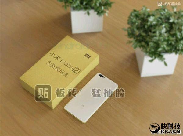 Xiaomi Mi Note 2: вид с другой стороны