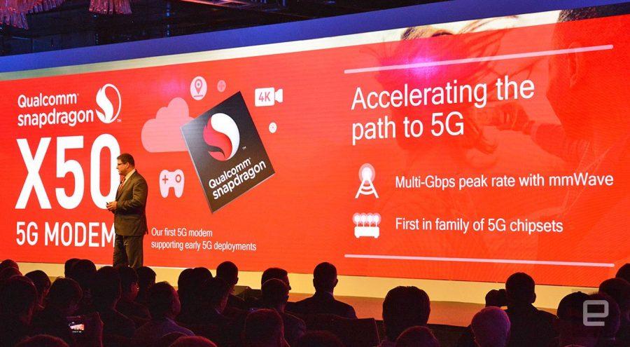 Модем Snapdragon X50 сделает реальностью интернет 5G в смартфоне