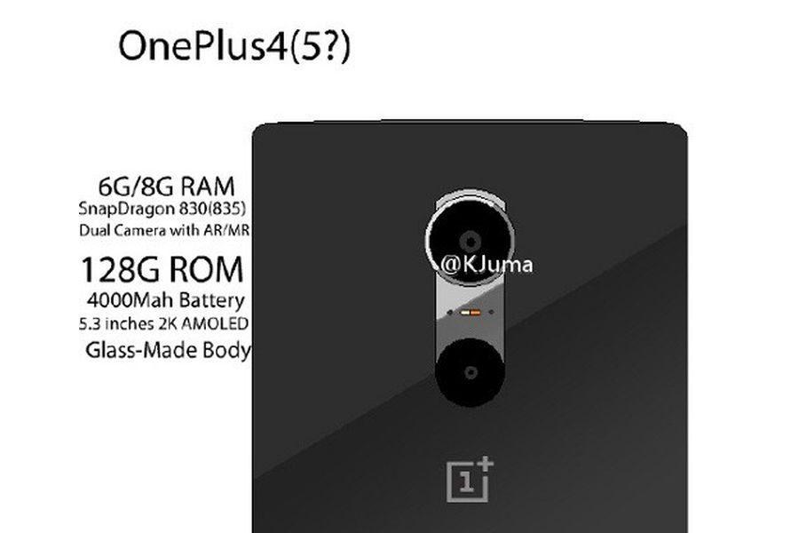 Технические характеристики OnePlus 4: новые данные из утечек