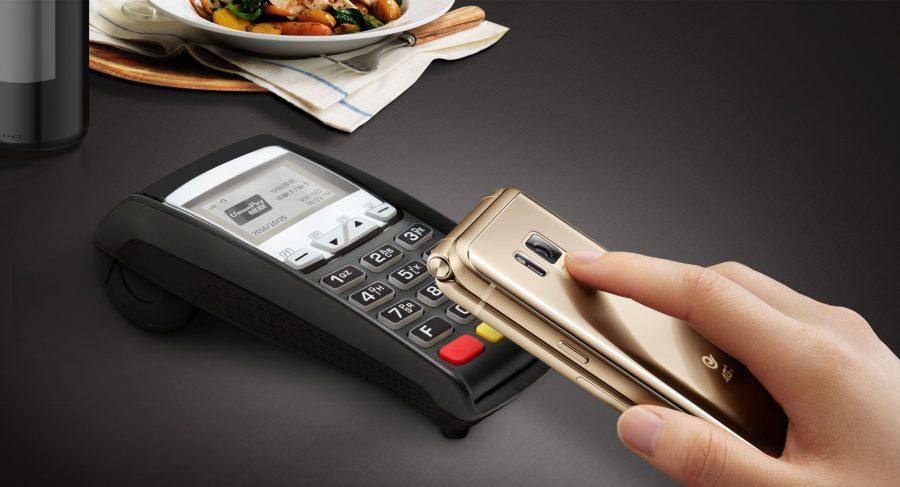 Новинка полностью поддерживает фирменный сервис бесконтактной оплаты Samsung Pay