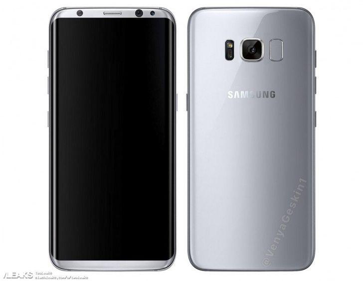 Первые настоящие фото Samsung Galaxy S8 Plus и обычного Galaxy S8