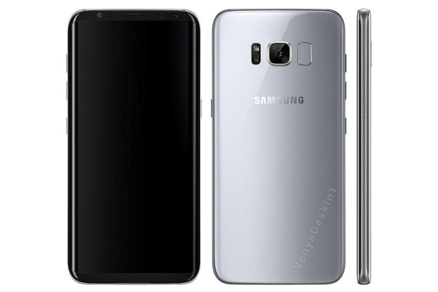 Номера моделей Samsung Galaxy S8