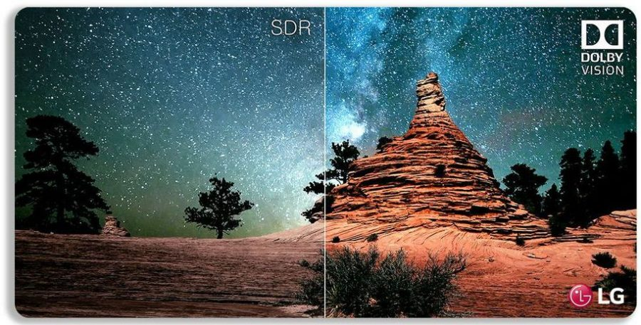 Dolby Vision HDR в действии