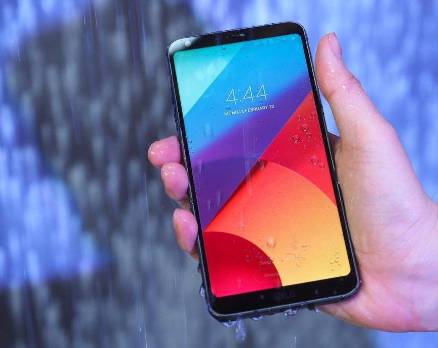 LG G6 не боится воды и пыли благодаря поддержке стандарта IP68